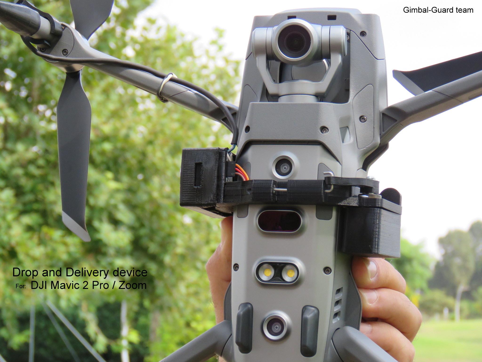 Mavic2 zoom pro drop delivery device 1