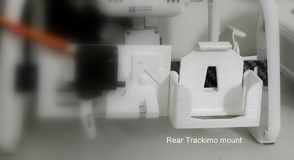 REAR Trackimo Holder for Rear gimbal guard only