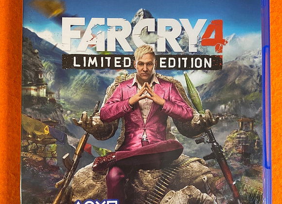 Jogo PS4 FARCRY 4 Limited Edition