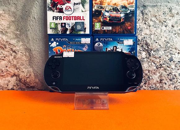 PlayStation Vita + 4 Jogos