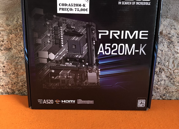 Motherboard  Asus Prime A 520M-K