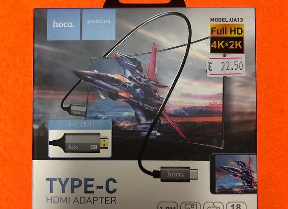 Adaptador type C HDMI