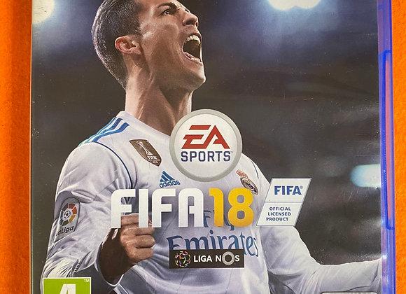 Jogo PS4 FIFA18