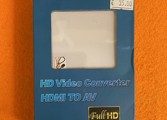 HD Vídeo Converter HDMI To AV