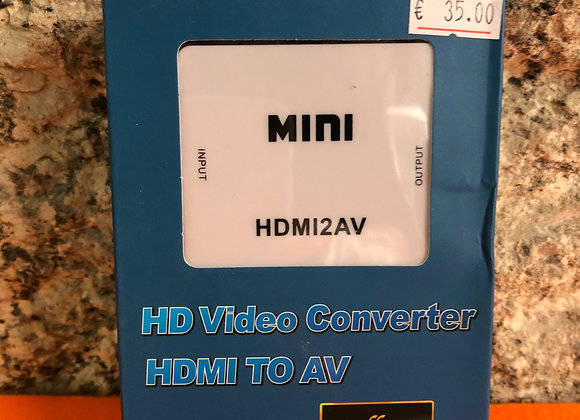 HD Video converter HDMI to AV