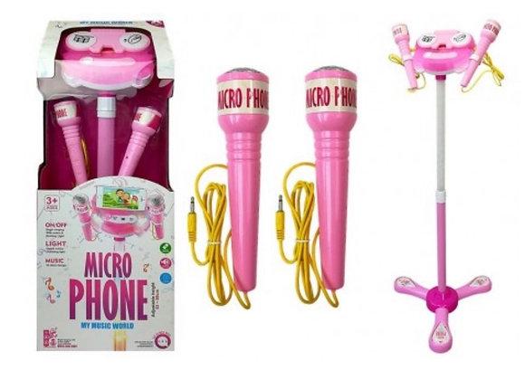 Brinquedo Microfone Karaoke