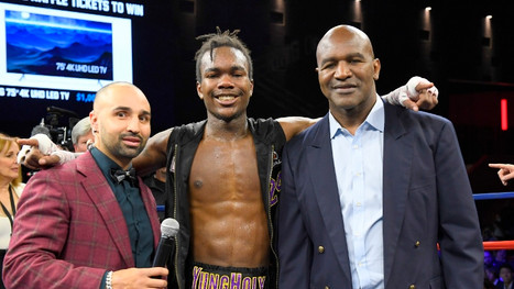 Evander Holyfield: My Son Evan Can Be Better Than Me In Boxing