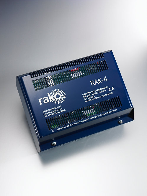Rako :: RAK 4 T trailing edge dimming rack for tungsten & halogen.