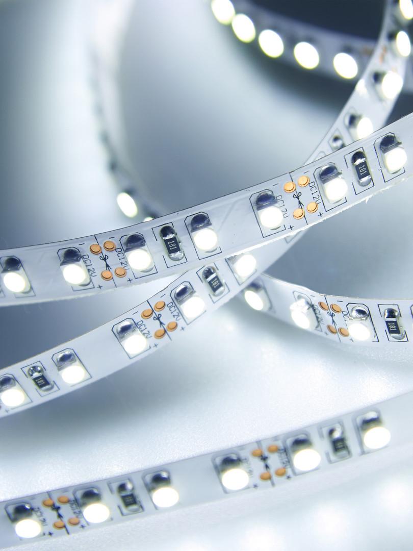 Diode strip. Led lights tape close-up.jp