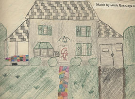 45 Sanderson Ave. drawing at 11 yrs old