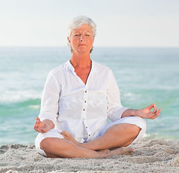 Picture of woman in yoga pose