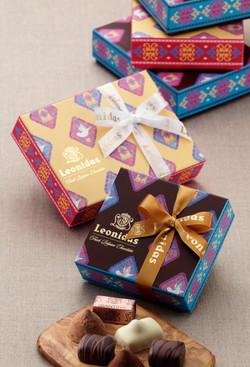 レオニダス バレンタインギフト 2012
