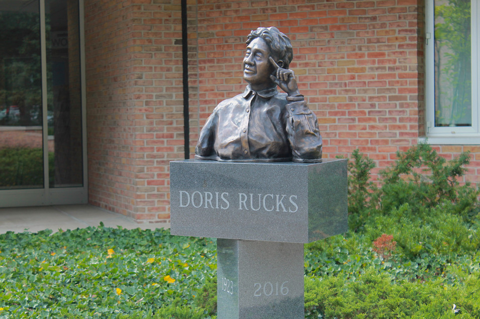 Doris Rucks Memorial Sculpture