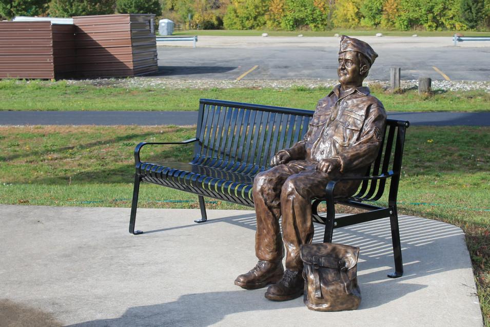 Denny Craycraft Memorial Sculpture