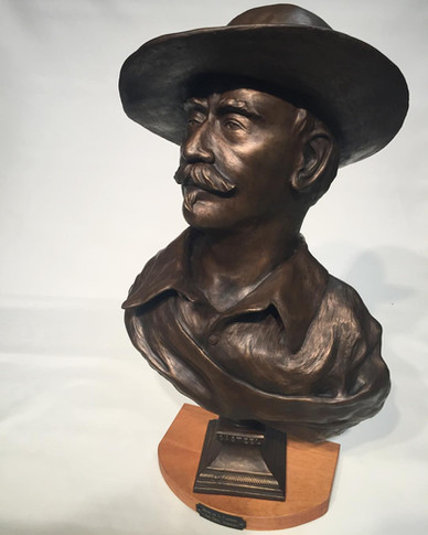 Bust of Gary Casteel