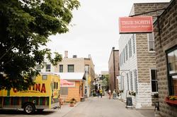 Van Pelt Alley_2019_View from 208 looking West toward Bridge Street