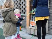 Opening Kinderzwerfboekstation bij Minibieb 10/12/20
