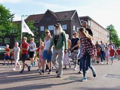 Avondvierdaagse, Wielewaalplein 2017