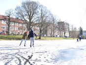 Gorechtkade / schaatsers