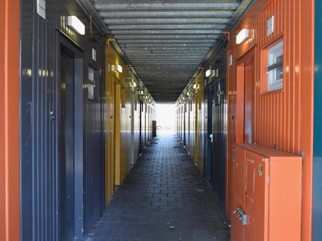 Damsterdiep containerwoningen
