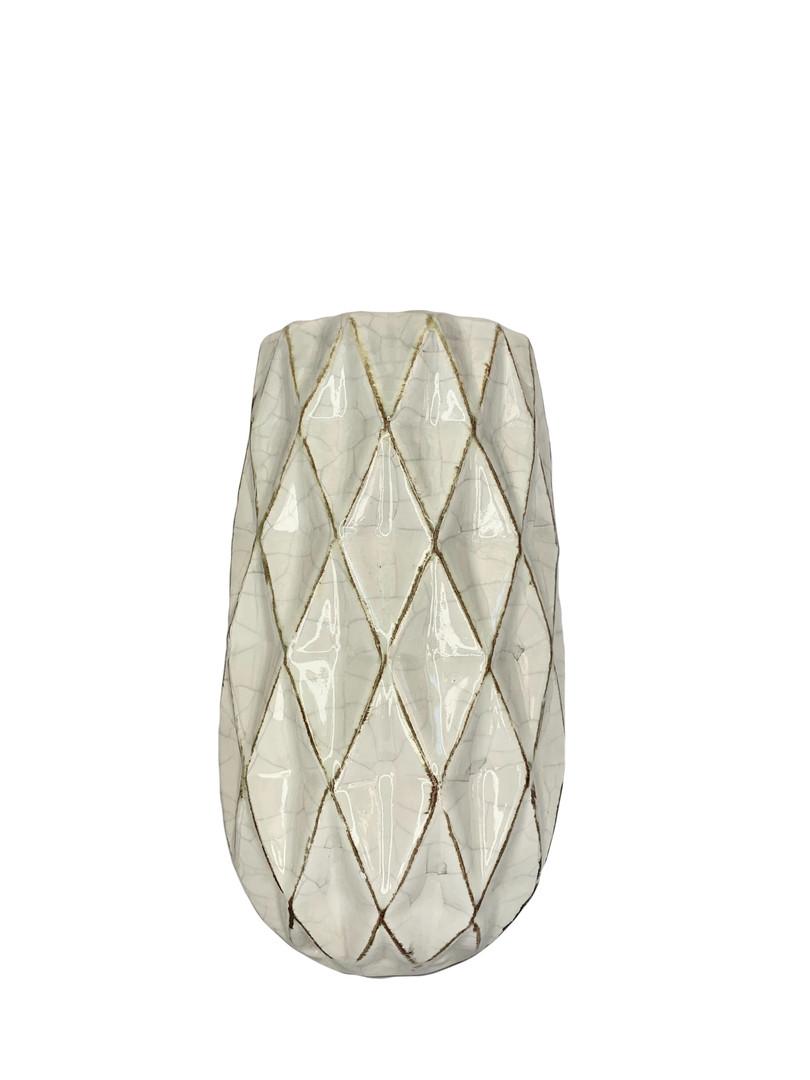 Modern Geometric Glass Vase