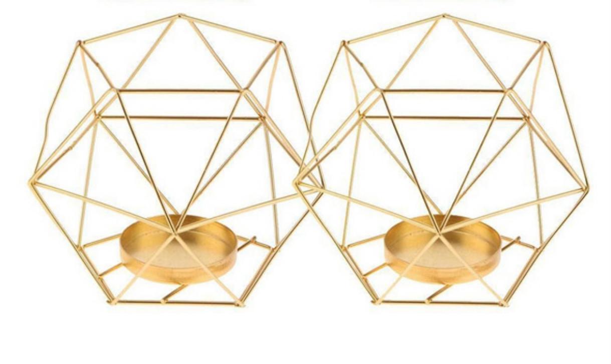 Geometric Tea Lights