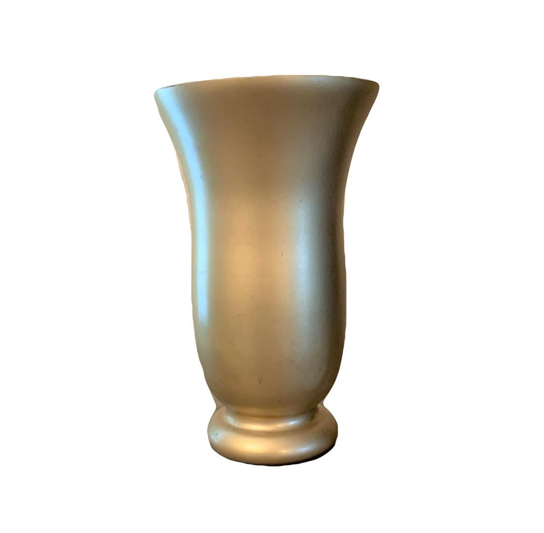 Matt Gold Vase