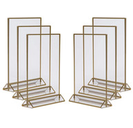 gold frame table number