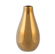 Gold Bottle Neck Vase