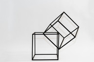 Stackable Black Cubes