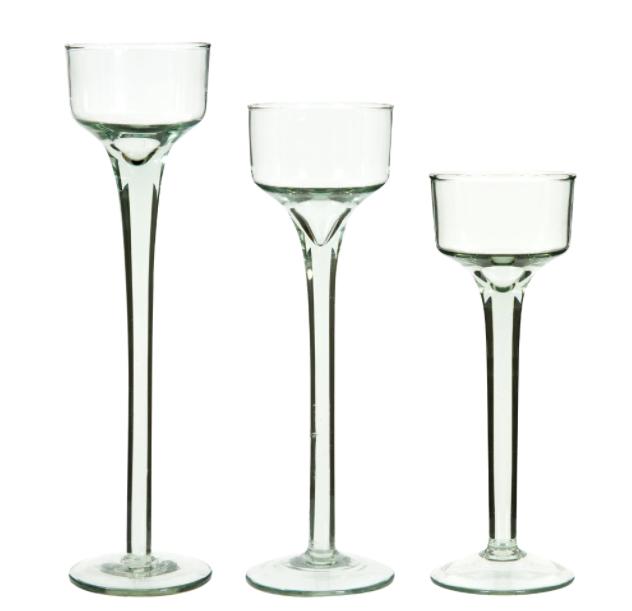Glass Tea Candle Holders