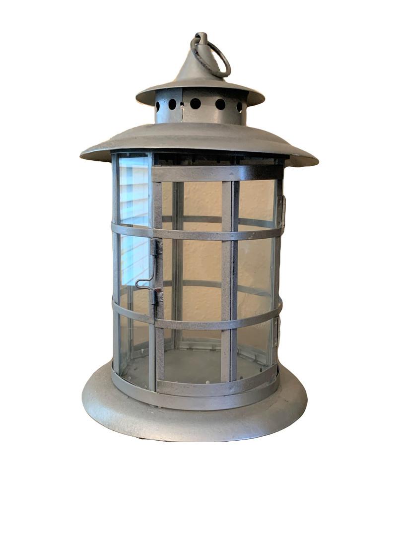 Silver Lighthouse Lantern