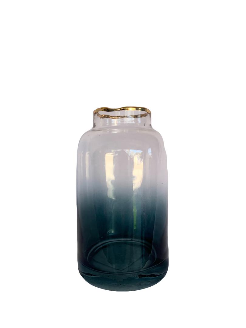 Ombre Blue Bud Vase