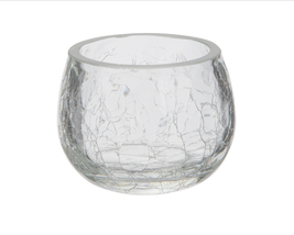 Crackle Glass Votives