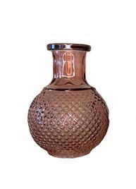 Mini Ombre Burgundy Bud Vase
