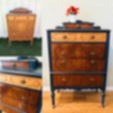 Highboy dresser