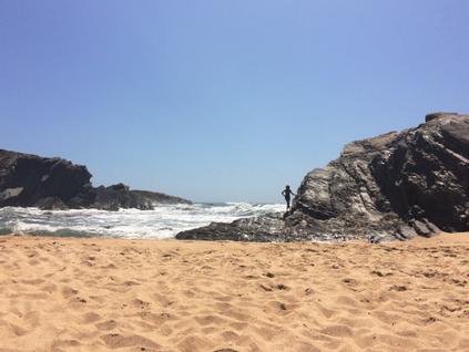 Ando a sonhar com a praia