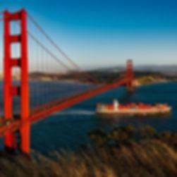 San Francisco Golden Gate Bridge. Logistics Counsel Law Firm.