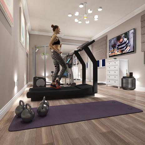 Spare Room - New Home Gym