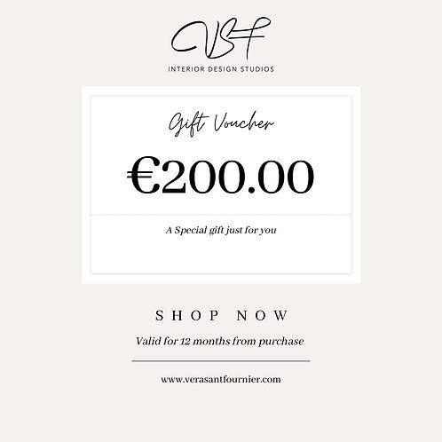 €200.00 Gift Voucher
