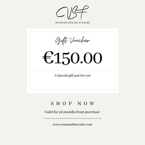 €150.00 Gift Voucher