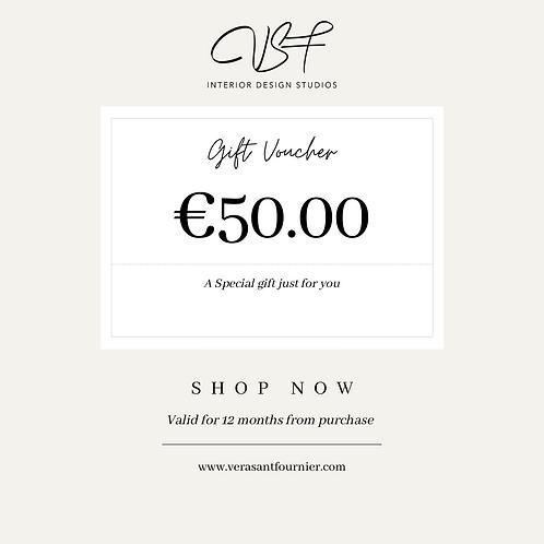 €50.00 Gift Voucher