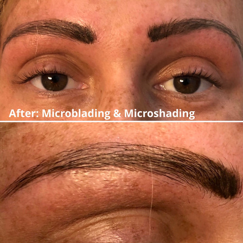 After - microblading & microshading