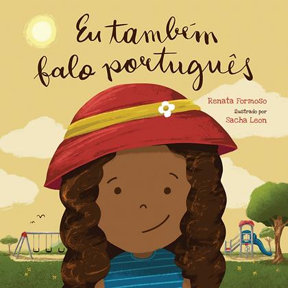 Eu também falo português | Livro infantil