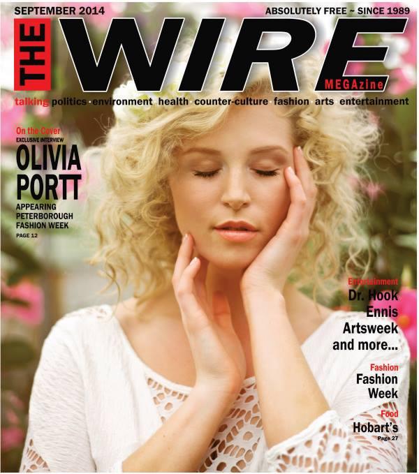 Cover of Wire Megazine