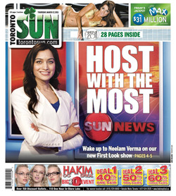 Coverpage Toronto Sun