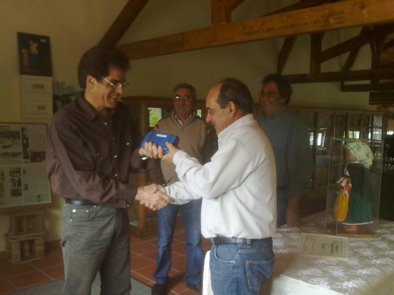 Doação de espólio à ARFCP