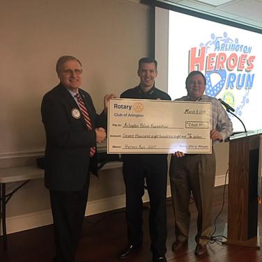 Donating to Arlington Police Foundation