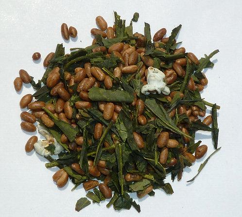 川柳入り玄米茶 1kg