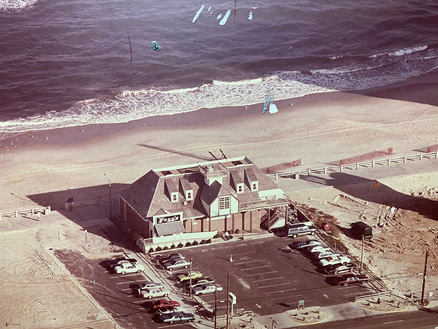 Vintage photo of waterman's when it was called Fogg's Seafood